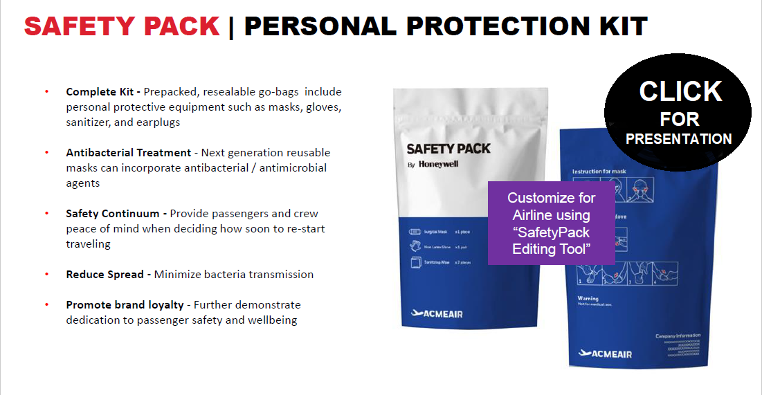 covid19 safety pack