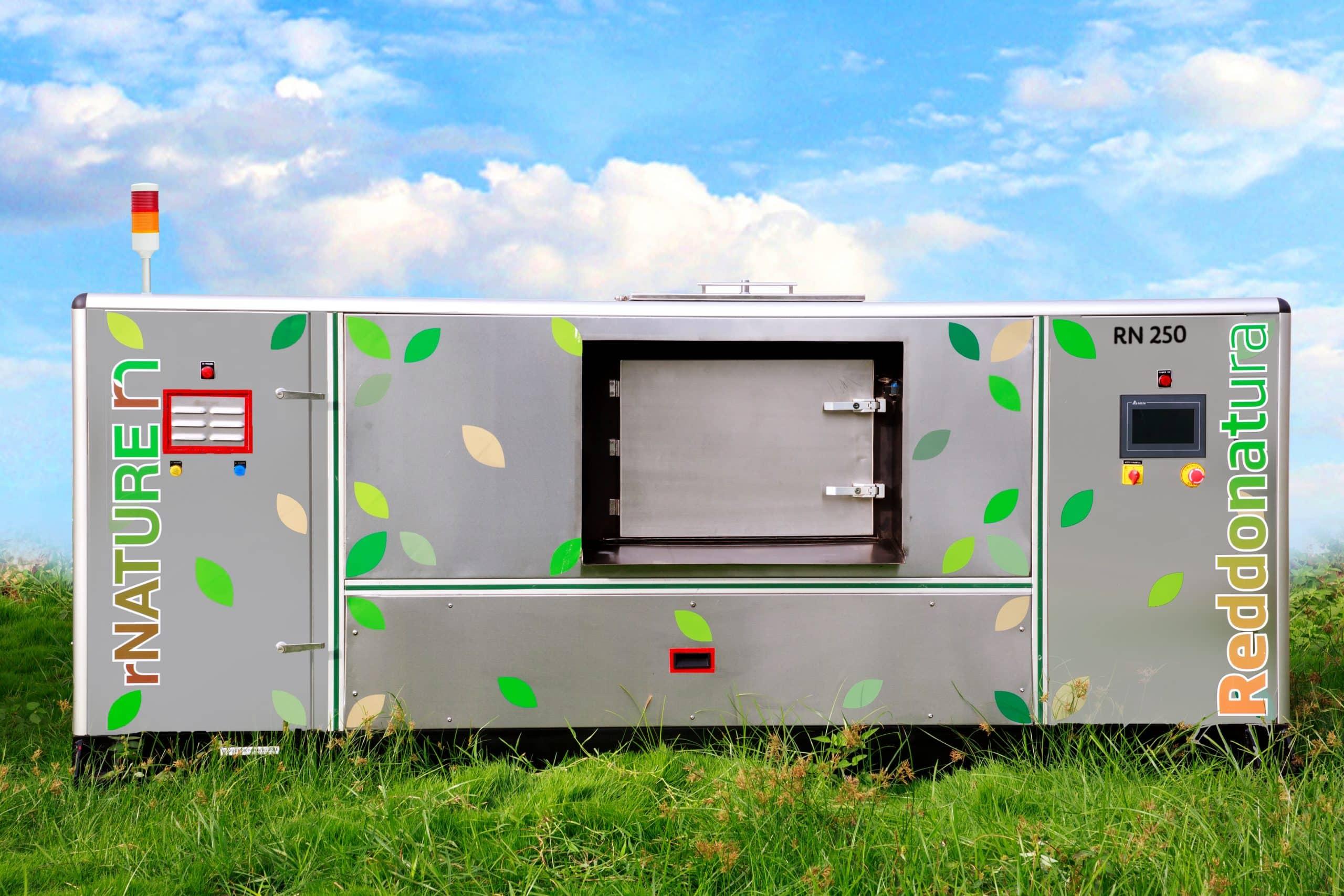 rN250 composting machine