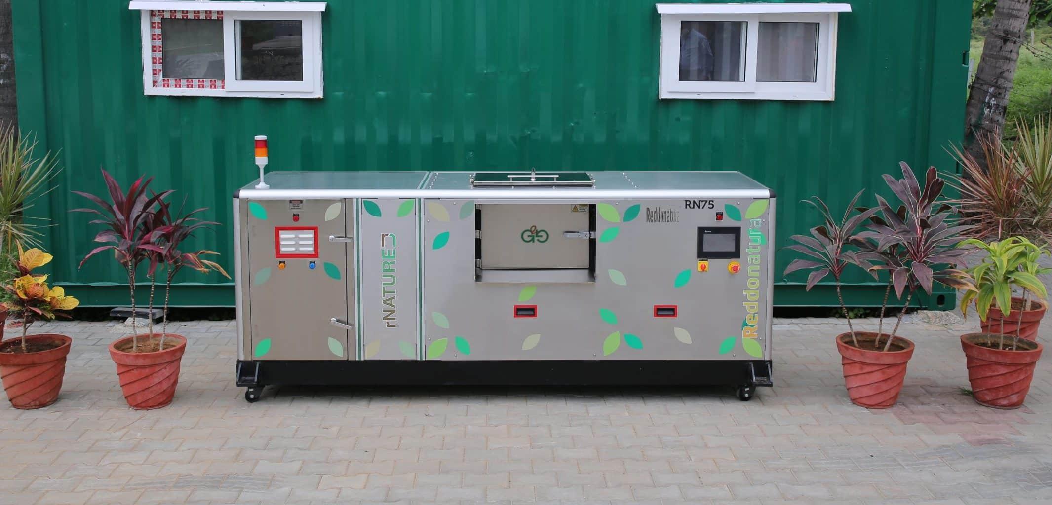 rN75 composting machine