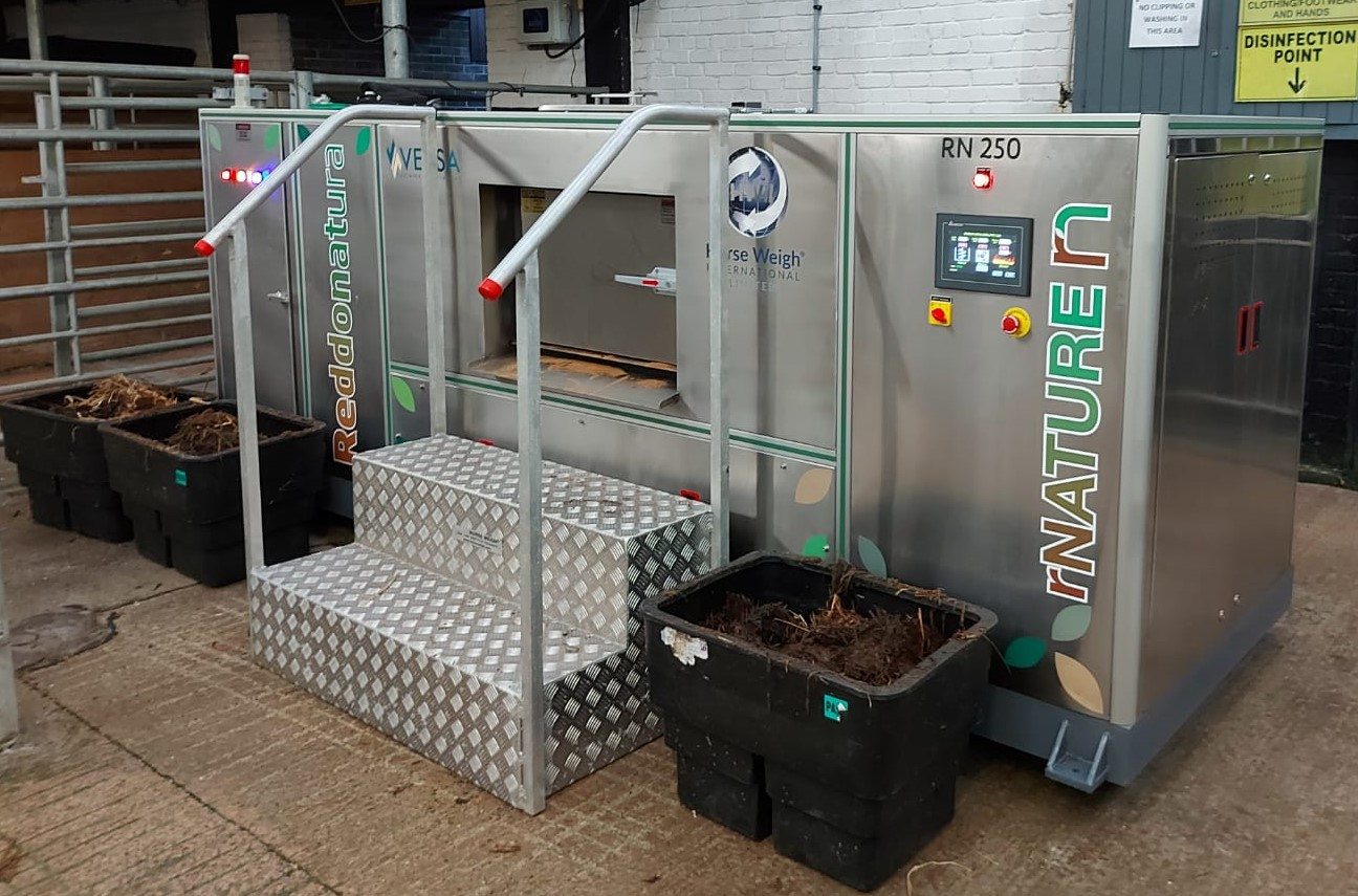 rN250 trial composting machine